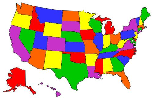 States and Provinces Visited on loco visited states map, rv states visited map, places i have been map, 50 states map, facebook states visited map,